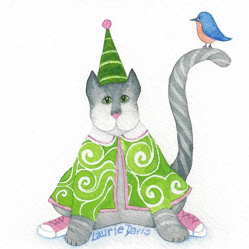 Pinky's Party Hat-Vagabond Cats - Set of 5
