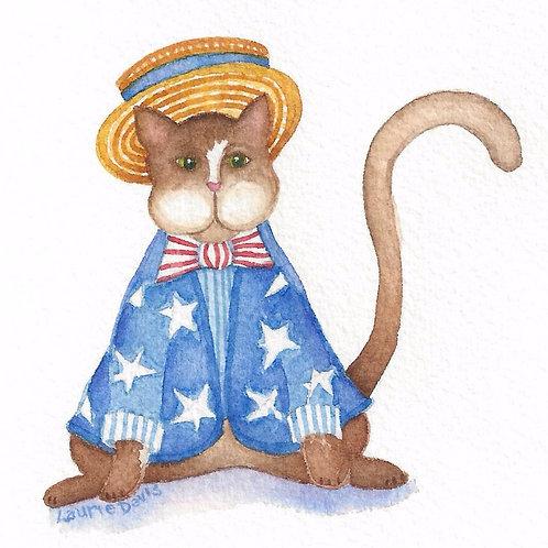 The Patriot - Vagabond Cats - Set of 5