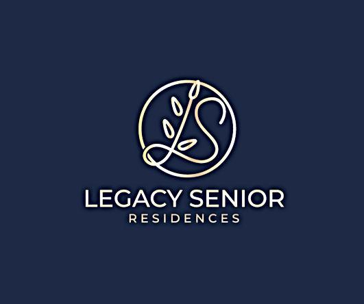 Legacy Logo Dk Blue Gold