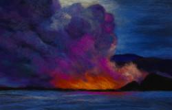 Lava at Sea