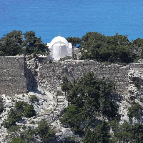 Visitrhodespedia V1: The Unique Castle of Monolithos...in a few words!