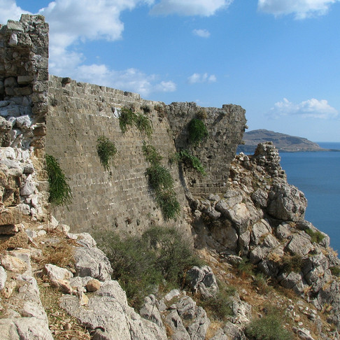 Feraklos Castle in Haraki, Rhodes! A Place that Must Visit!