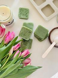 Exfoliate + Moisturize With These Moringa-Coconut Sugar Scrub Bars