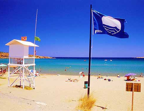 In total 24 Blue Flagged Beaches in Rhodes!