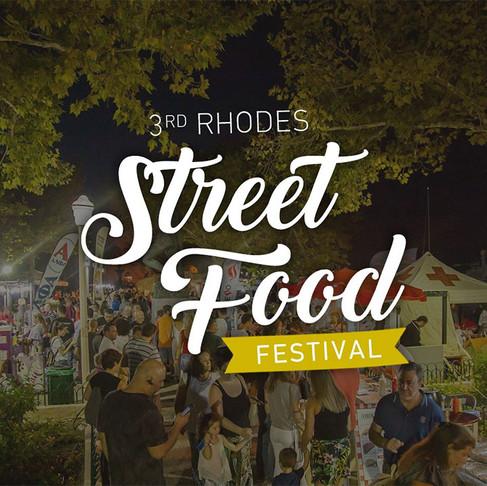 3rd Rhodes Street Food Festival 31.8 - 2.9!