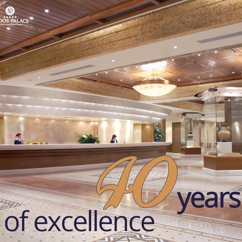 Rodos Palace - 40 Years of Excellence!