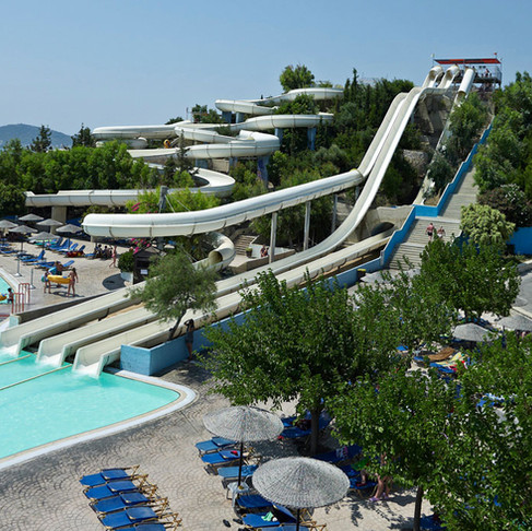 Rhodes Island Water Park! A Great Idea for Our Young and Not Only Visitors!
