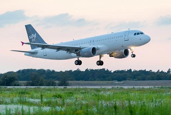Sundair flying to Rhodes Greece Summer 2019