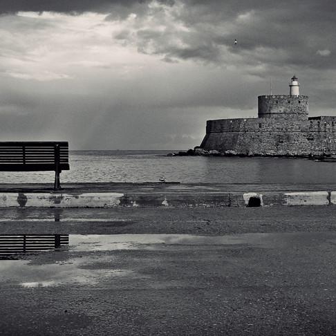 Rainy, yet stunning island of Rhodes!