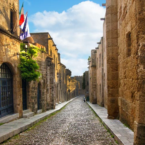 UNESCO protected Rhodes old Town Transformation!