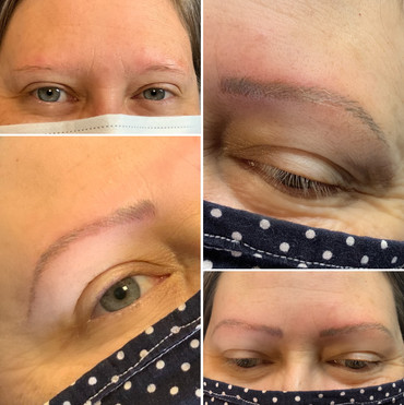 Before & After Nano Brow
