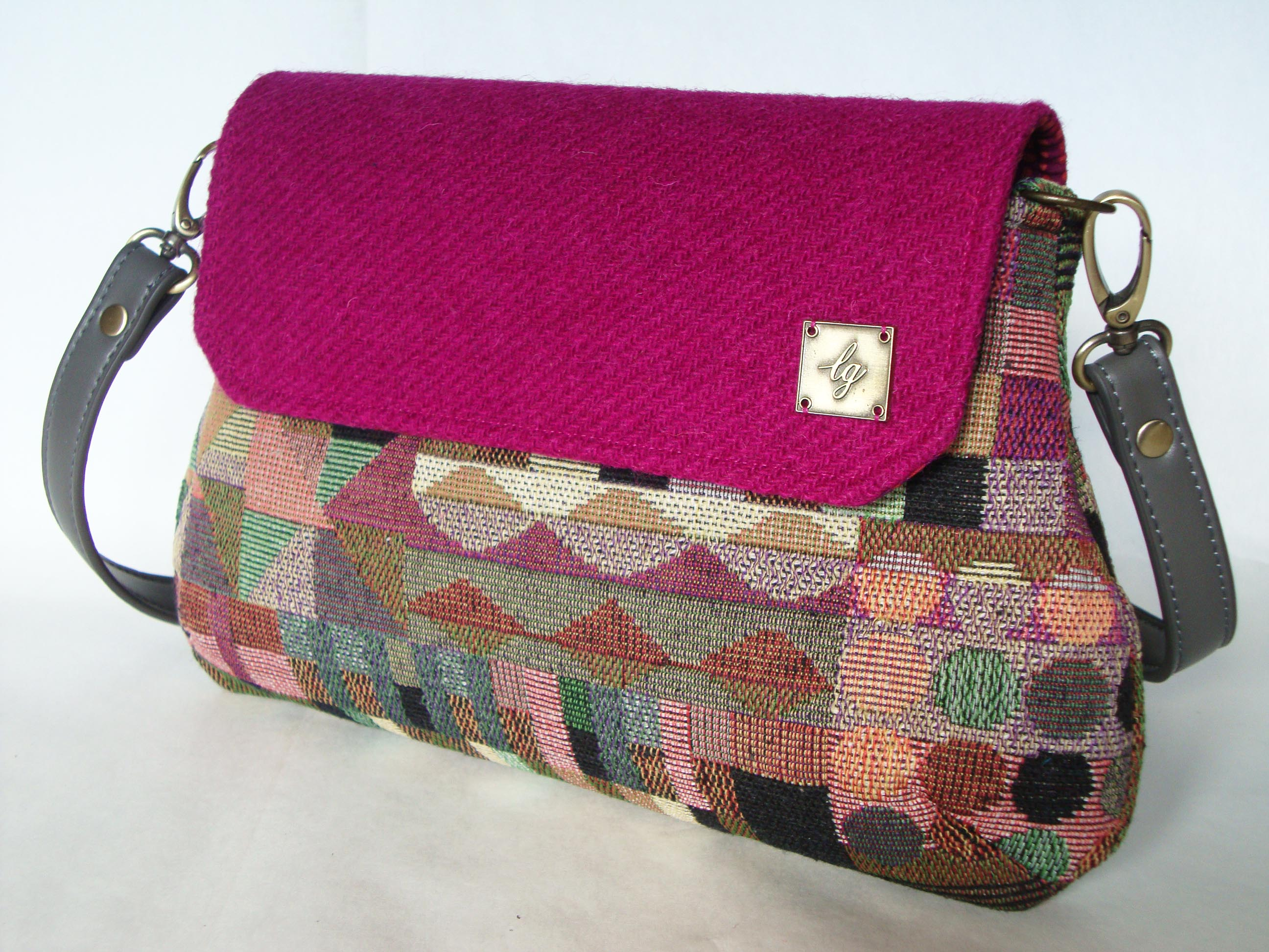 Multi colour shaped Bag