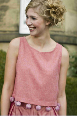 Pure wool crop top with knitted bobbles.jpg