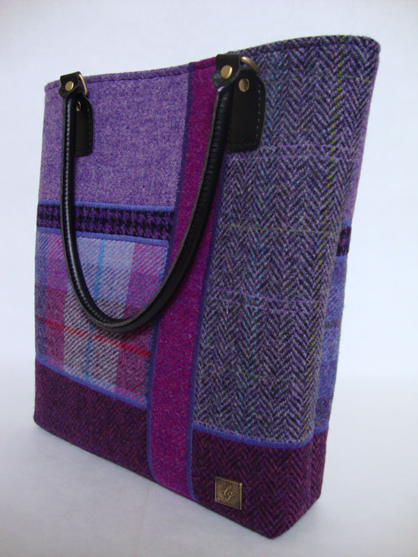 Large purple bag