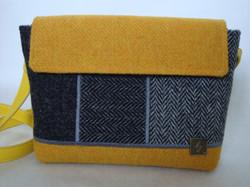 Small yellow and grey Bag
