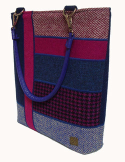 Pink and blue Bag