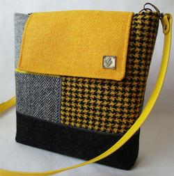 Yellow/grey Medium Bag