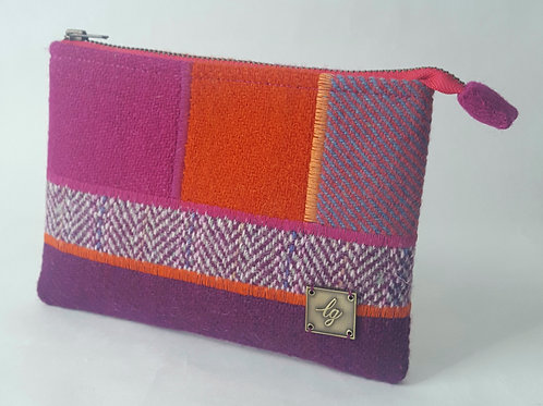 Pink, purple and orange Purse