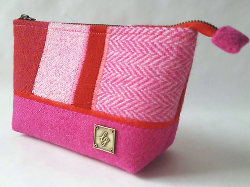 Pink and red make-up Bag