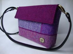 Purple tones small Bag