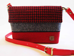 Small red and grey Bag