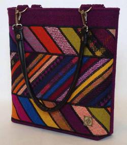 Multi coloured Harris Tweed Bag