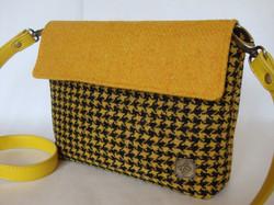 Black and yellow small bag
