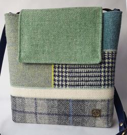 Green and Blue Medium Bag