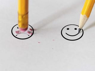Mantenha uma atitude positiva nos estudos