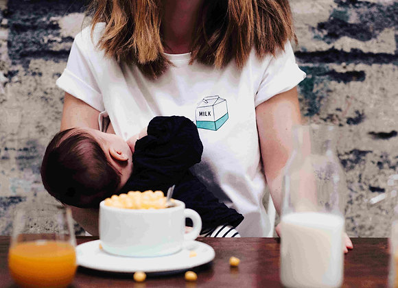 T shirt allaitement Take away milk