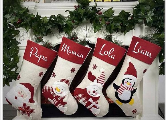Botte de Noël personnalisée