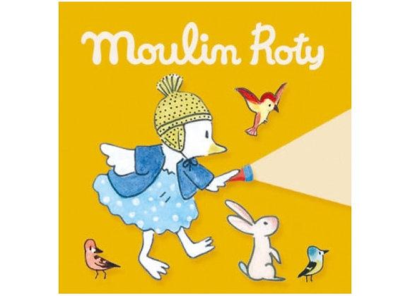 3 disques pour lampe à histoires  Moulin Roty