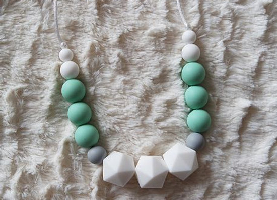 Collier Machouillable - Collection Tendresse Menthe