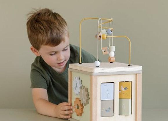 Cube d'activités en bois Little Goose