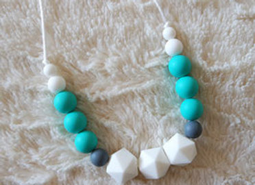 Collier Machouillable - Collection INNOCENCE TURQUOISE
