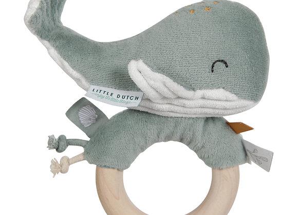 *Hochet Baleine Ocean - Menthe