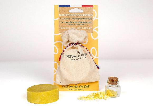 Shampooing miel citron