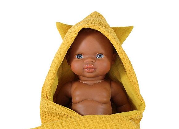 Sortie de Bain pour poupée - Minikane