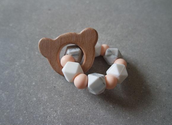 L'anneau de dentition - Collection PROMESSE ROSE