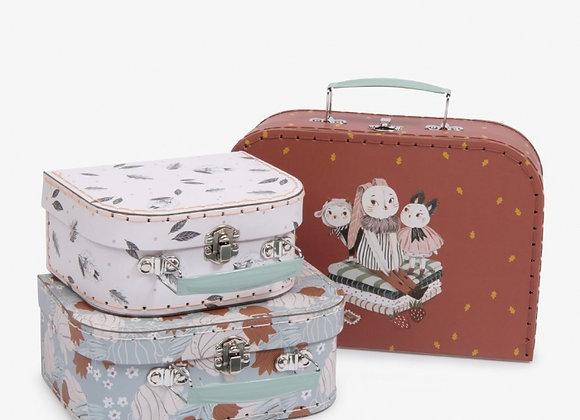 *Set 3 valises Après la pluie Moulin Roty