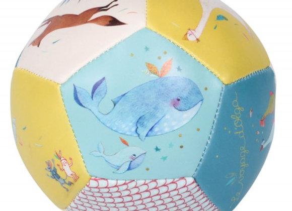 Ballon souple 10cm Le Voyage d'Olga Moulin Roty