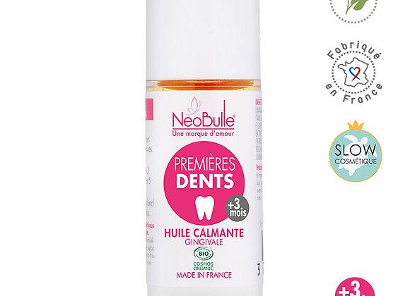 Premières Dents, huile calmante gingivale