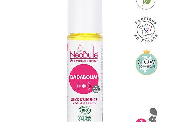 Badaboum, stick d'urgence