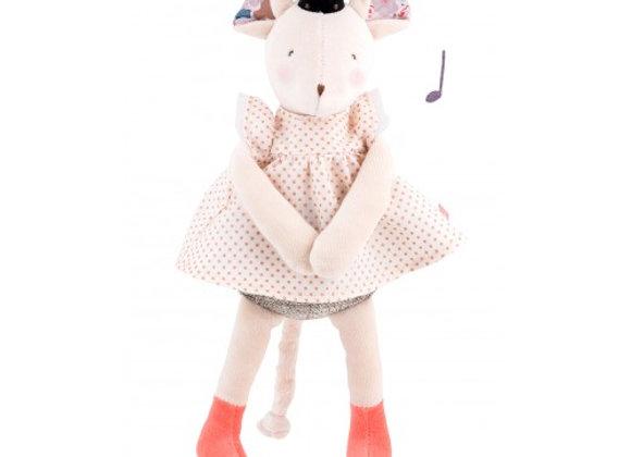 Peluche musicale souris Mimi Il était une fois Moulin Roty