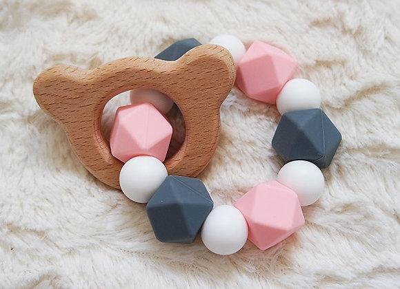 L'anneau de dentition - Collection INNOCENCE ROSE