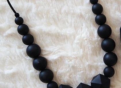 Collier Machouillable - Noir