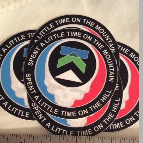 2.5 inch vinyl UV cover stickers