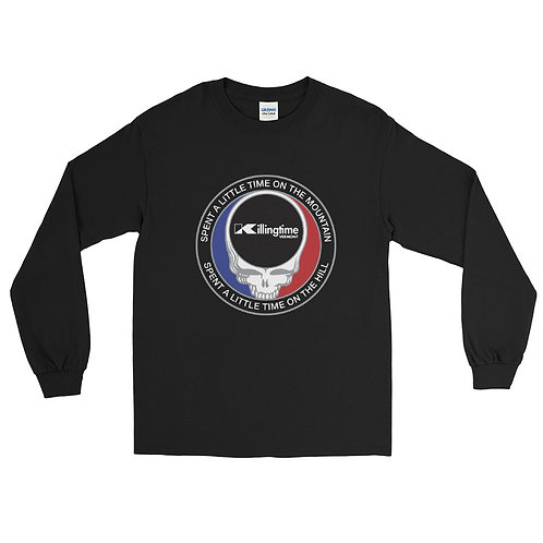 #1 Killing time meets the Dead Men's Long Sleeve Shirt
