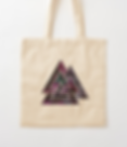 Wiccan tote bag Odin´s triangle