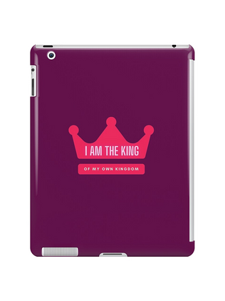 I am the king iPad Case & Skin